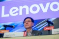 Yang Yuanqing, chairman and chief executive officer of Lenovo Group. Photo: Bloomberg