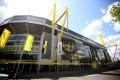 Borussia Dortmund's Signal Iduna Park will host the restart of the Bundesliga with no spectators present. Photo: EPA