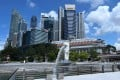 Singapore is looking to slowly reopen its economy starting June 2. Photo: AFP