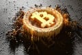 Bitcoin has swung around wildly during the coronavirus crash and has since recovered, advancing near 30 per cent this year. Photo: Shutterstock