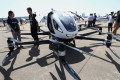 The Ehang 216, an autonomous passenger aerial vehicle (AAV), photographed at Airshow China 2018 in Zhuhai. Photo: SCMP / Dickson Lee