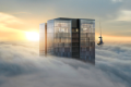 Take a look inside the Pacifica Super Penthouse, which rises above the clouds, looks out over Auckland's harbour, and comes with a separate butler's kitchen. Photo: The Pacifica
