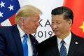 US President Donald Trump meets China's President Xi Jinping at a G20 summit in Japan last year. Photo: Reuters