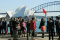 Chinese citizens have been warned against visiting Australia after a spate of race- and coronavirus-related assaults. Photo: AFP