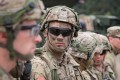 US soldiers at a Nato military exercises in Orzysz, Poland in 2017. US President Donald Trump has ordered the military to remove 9,500 troops from Germany. File photo: AFP