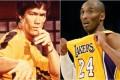Martial arts superstar Bruce Lee (left) had a huge impact on NBA legend Kobe Bryant. Photo: Instagram