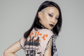 Make-up artist Ophelia Liu in a signature goth-inspired look. She's taking part in the BBC reality show Glow Up.