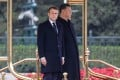 French President Emmanuel Macron and Chinese counterpart Xi Jinping have spoken by telephone five times this year. Photo: AFP