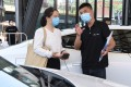 The pandemic exacerbated a sales slump that is in its third year, with an economic slowdown, trade tensions and stricter emission standards weighing on demand. Photo: Xinhua