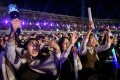 Fans cheer at the K-pop World Festival on October 11, 2019, in Changwon. Photo: AFP
