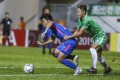 Kitchee and Wofoo Tai Po in AFC Cup action at Mong Kok Stadium last June. Photo: Jonathan Wong