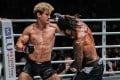 Cosmo Alexandre winds up an overhand against Sage Northcutt. Photo: ONE Championship