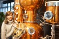 Dimple Yuen is co-founder of Two Moons Distillery in Chai Wan, which is Hong Kong's first gin distillery. Yuen is just one of a number of women making a name for themselves in Asia's drinks industry. Photo: Two Moons