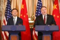 China's top diplomat Yang Jiechi and US Secretary of State Mike Pompeo will meet for talks in Hawaii on Wednesday. Photo: AFP
