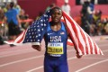 Christian Coleman has been suspended for missing a doping test. Photo: AP