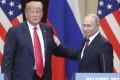 US President Donald Trump with his Russian counterpart Vladimir Putin. Photo: TNS