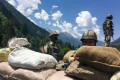 At least 20 Indian soldiers were killed in the latest clashes on the China-India border in the Himalayas. Photo: AFP