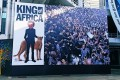 A billboard depicting Limkokwing University founder as the 'King of Africa' which went viral and was later removed. It led to claims of racism at the institution, as well as debate on widespread discrimination in Malaysia. Photo: Twitter