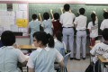 Form Six students participate in an exercise during a liberal studies lesson at a secondary school in Tseung Kwan O in 2011. Photo: SCMP