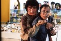 Jackie Chan (left) and Chor Yuen in a still from his 1985 film Police Story, one of the martial arts star's 10 best films.