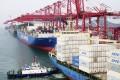 A dockyard in Qingdao, China. Photo: AP