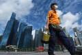 Singapore: a financial rival to Hong Kong? Photo: Xinhua