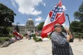 Mississippi lawmakers have voted to remove a symbol of the proslavery Confederacy from the Deep South state's flag. Photo: AP