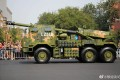The PCL-181 advanced vehicle-mounted howitzer is designed to adapt tp rugged terrain. Photo: Weibo