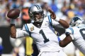Former Carolina Panthers quarterback Cam Newton is in line to sign on with the New England Patriots, according to sources. Photo: AP