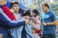 Former Uruguay World Cup star Diego Forlan attracted a lot of interest when he played for Kitchee in 2018. Photo: SCMP Photo