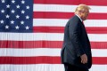 US President Donald Trump attends an event in Marinette, Wisconsin, on Thursday. Photo: AFP