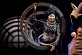 An artiste performs at a media preview of Cirque du Soleil's Kurios – Cabinet of Curiosities in Sydney in October. Photo: AFP