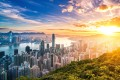 Hong Kong's skyline at sunrise. While the city's rich are preparing for a worst-case scenario amid China's controversial national security law, major mainland tech billionaires are coming in. Photo: Getty Images/iStockphoto