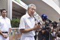 Singaporean Prime Minister Lee Hsien Loong. Photo: Kyodo