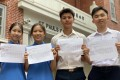 St Paul's Co-educational College has four full-score IB students this year. Photo: Chan Ho-him
