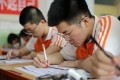 Students across China have been preparing for this week's university entrance exams. Photo: Xinhua