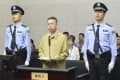 Meng Hongwei disappeared in 2018 and was jailed in January this year. Photo: Handout