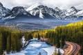 Banff National Park is Canada's oldest national park. Photo: @visit.banff