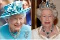 Queen Elizabeth loves her aquamarine jewellery pieces and brooch. Photo: Instagram