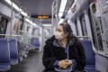 A passenger on the subway in Washington on April 3. In America, the richest women live 10 years longer than the poorest women. For men, the gap is even wider. Photo: EPA-EFE
