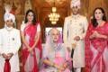 Maharaja Padmanabh Singh and the royal family of India's Jaipur state. Photo: @royalfamilyjaipur/ Instagram