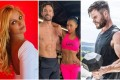 Up your home workout game like celebrities Britney Spears, Thom Evans and Nicole Scherzinger, and Chris Hemsworth. Photo: Instagram