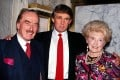 Donald Trump (centre) with his mother, Mary, and father, Fred. Mary Trump is on bad terms with her uncle and has written a tell-all book on the 'world's most dangerous man' – what do we know about her?