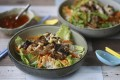 Susan Jung's Vietnamese rice noodles with lemongrass chicken, or bun ga nuong. Photography: SCMP / Jonathan Wong. Styling: Nellie Ming Lee. Kitchen: courtesy of Culinart