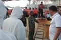 Indonesian authorities inspect of one of the Chinese ships on Batam Island. Photo: Twitter