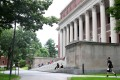 Chinese students last year accounted for about one-third of the 1.1 million foreigners enrolled at American higher education institutions, such as Harvard University (pictured). Photo: Getty Images/AFP