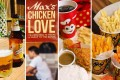 San Miguel, Max's Restaurant, Jollibee, Potato Corner … four home-grown Filipino brands you can find all over the world. Photos: Twitter/Instagram
