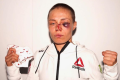 Former UFC strawweight champion Rose Namajunas poses after her fight with Jessica Andrade at UFC 251 at Fight Island, Abu Dhabi in July. Photo: Instagram / Rose Namajunas
