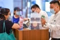 Cosmetics were the most popular duty free purchase, accounting for 51.3 per cent of total duty free sales, followed by jewellery with 14.1 per cent and watches with 11.9 per cent. Photo: Xinhua