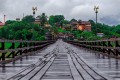 The Mon bridge at Sangkhlaburi, near Thailand's border with Myanmar, spans part of a lake and is a favourite of photographers. It's one of the less visited attractions in the country. Photo: Shutterstock